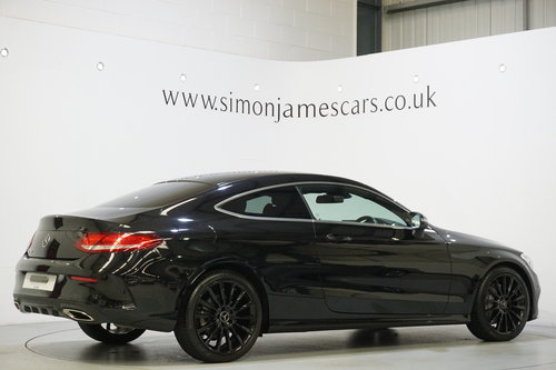 2016 Mercedes Benz C300 AMG Line Coupe'  SOLD (picture 2 of 6)