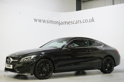 2016 Mercedes Benz C300 AMG Line Coupe'  SOLD (picture 3 of 6)