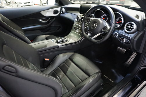 2016 Mercedes Benz C300 AMG Line Coupe'  SOLD (picture 6 of 6)