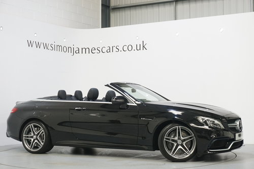 2017 Mercedes Benz C63 AMG Convertible / HUGE SPEC / AS NEW For Sale (picture 1 of 6)