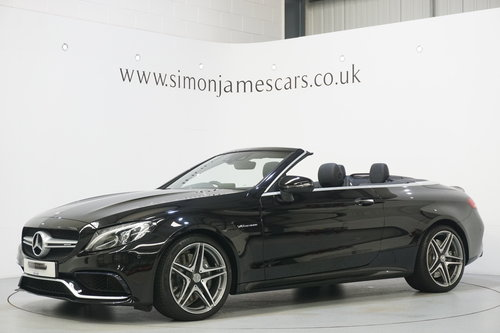 2017 Mercedes Benz C63 AMG Convertible / HUGE SPEC / AS NEW For Sale (picture 3 of 6)