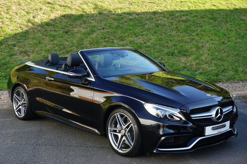2017 Mercedes Benz C63 AMG Convertible / HUGE SPEC / AS NEW For Sale (picture 6 of 6)
