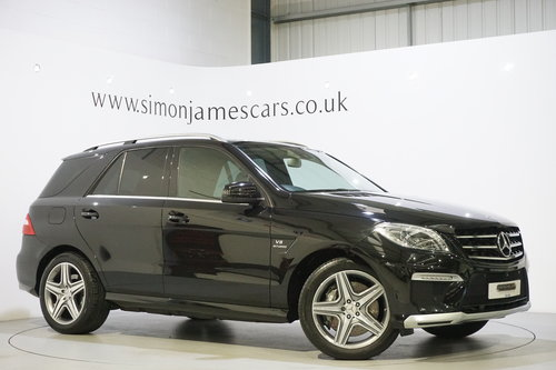 2014 Mercedes Benz ML63 5.5 V8 Bi-Turbo / MASSIVE SPEC  For Sale (picture 1 of 6)