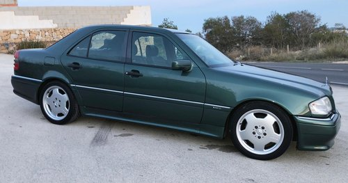 1995 Mercedes c36 amg auto w202 For Sale (picture 3 of 6)