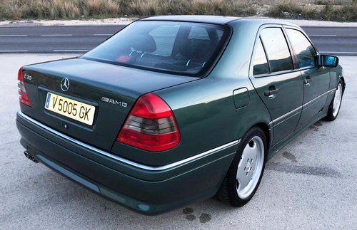 1995 Mercedes c36 amg auto w202 For Sale (picture 4 of 6)