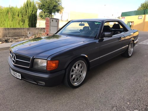 1995 Mercedes w126 420 sec auto lhd spanish For Sale (picture 1 of 6)