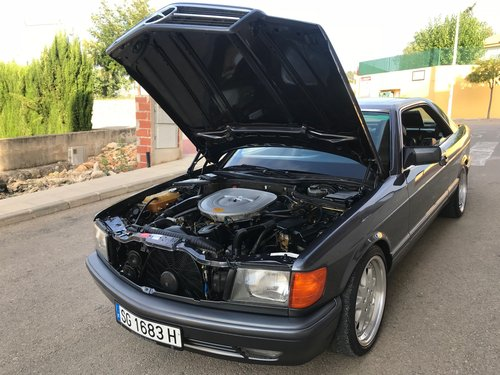 1995 Mercedes w126 420 sec auto lhd spanish For Sale (picture 6 of 6)