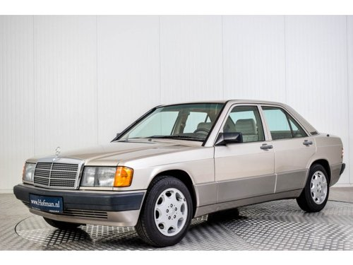 1989 Mercedes-Benz 190 2.5 D Turbo Diesel Automatic gearbox For Sale (picture 1 of 6)