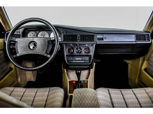 1989 Mercedes-Benz 190 2.5 D Turbo Diesel Automatic gearbox For Sale (picture 6 of 6)