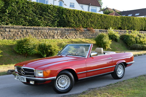 1982 Mercedes 280 SL Only 21700 Miles! Investment! SOLD (picture 1 of 6)