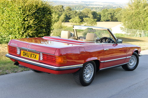 1982 Mercedes 280 SL Only 21700 Miles! Investment! SOLD (picture 2 of 6)