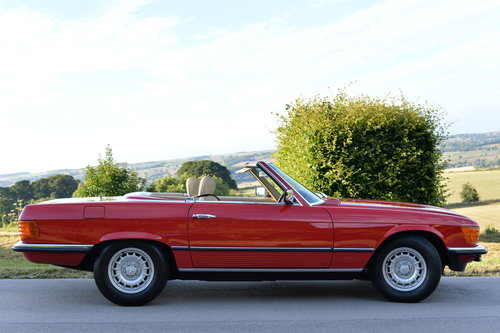 1982 Mercedes 280 SL Only 21700 Miles! Investment! SOLD (picture 3 of 6)