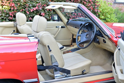 1982 Mercedes 280 SL Only 21700 Miles! Investment! SOLD (picture 4 of 6)