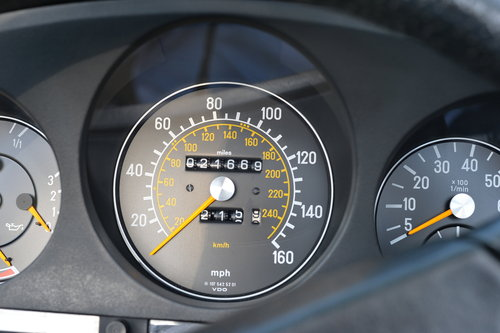 1982 Mercedes 280 SL Only 21700 Miles! Investment! SOLD (picture 6 of 6)
