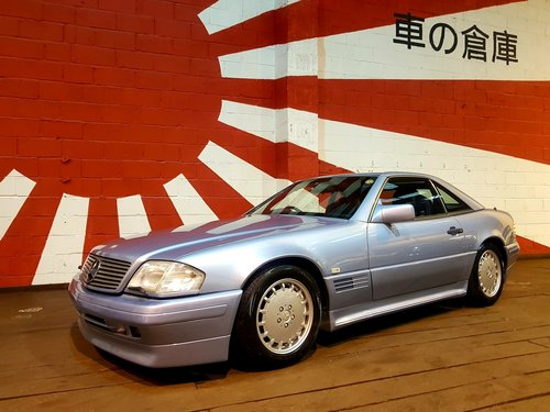 1992 MERCEDES-BENZ SL 500 AUTOMATIC CONVERTIBLE WITH HARDTOP *  For Sale (picture 1 of 6)