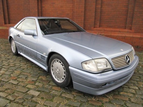 1992 MERCEDES-BENZ SL 500 AUTOMATIC CONVERTIBLE WITH HARDTOP *  For Sale (picture 2 of 6)
