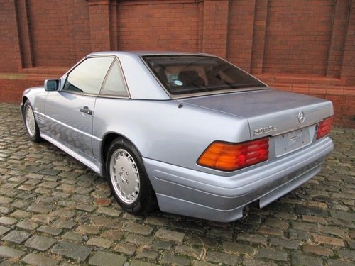 1992 MERCEDES-BENZ SL 500 AUTOMATIC CONVERTIBLE WITH HARDTOP *  For Sale (picture 4 of 6)