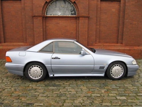 1992 MERCEDES-BENZ SL 500 AUTOMATIC CONVERTIBLE WITH HARDTOP *  For Sale (picture 5 of 6)