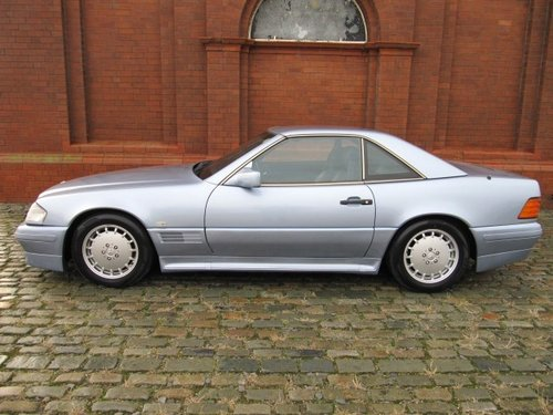 1992 MERCEDES-BENZ SL 500 AUTOMATIC CONVERTIBLE WITH HARDTOP *  For Sale (picture 6 of 6)