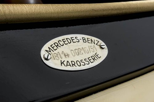1951 Mercedes 170S Cabriolet For Sale (picture 5 of 6)