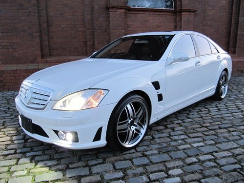 2005 MERCEDES-BENZ S-CLASS S500 LORINSER LIKE BRABUS WALD ART AMG For Sale (picture 1 of 6)
