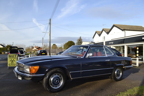1972 Mercedes SL350 with Hardtop - recently renovated  For Sale (picture 2 of 23)