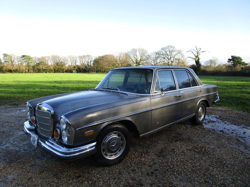 Mercedes W108 250s 1968 LHD Arizona car. Running Project Car SOLD (picture 3 of 6)