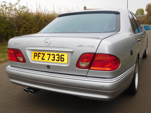 1999 MERCEDES BENZ E55 AMG  63,000 MILES For Sale (picture 5 of 6)