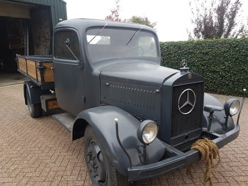 1941 Mercedes L3000 S Diesel SOLD (picture 1 of 6)