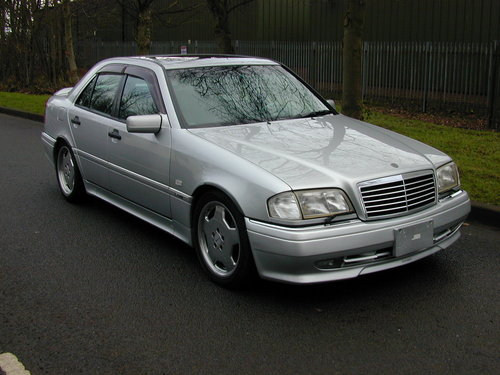 1997 MERCEDES BENZ W202 C36 AMG - LHD - EX JAPAN - JUST 49k!  For Sale (picture 1 of 6)