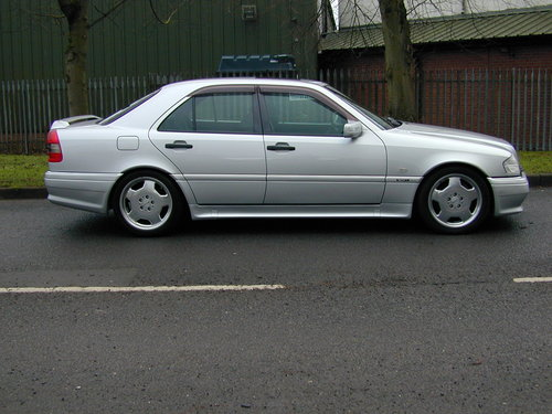 1997 MERCEDES BENZ W202 C36 AMG - LHD - EX JAPAN - JUST 49k!  For Sale (picture 2 of 6)