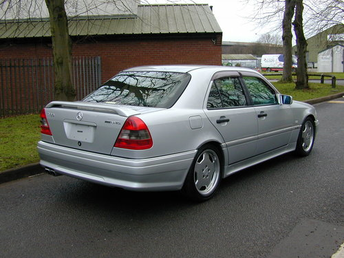 1997 MERCEDES BENZ W202 C36 AMG - LHD - EX JAPAN - JUST 49k!  For Sale (picture 3 of 6)