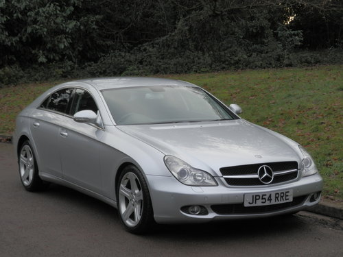 2006 Mercedes CLS 320 CDi.. Low Miles.. FSH.. Bargain..  SOLD (picture 1 of 6)