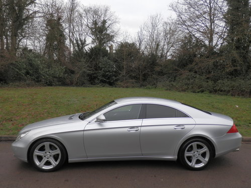 2006 Mercedes CLS 320 CDi.. Low Miles.. FSH.. Bargain..  SOLD (picture 2 of 6)