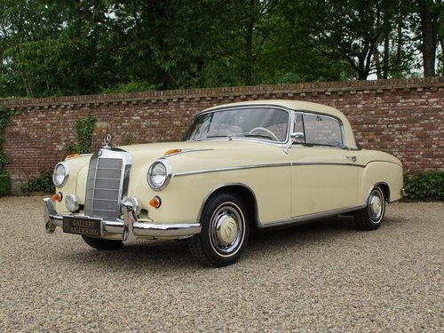 1960 Mercedes Benz 220SE Ponton coupe For Sale (picture 1 of 6)