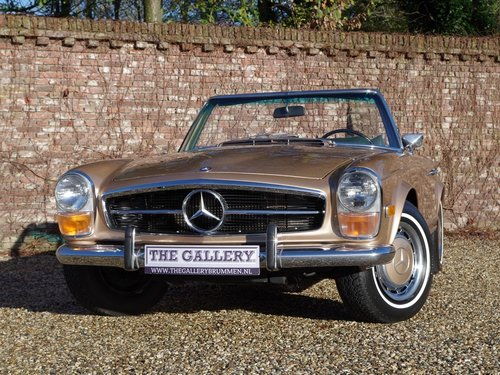 1971 Mercedes Benz 280SL Pagode automatic, with only 80.0053 Mls. For Sale (picture 5 of 6)
