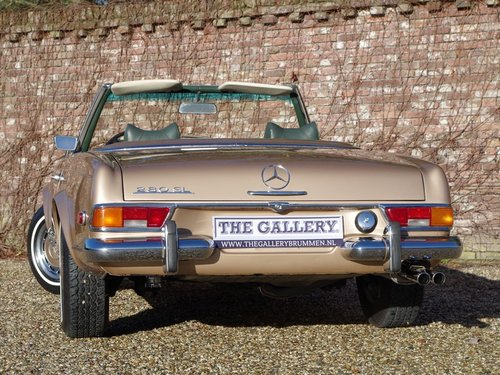 1971 Mercedes Benz 280SL Pagode automatic, with only 80.0053 Mls. For Sale (picture 6 of 6)