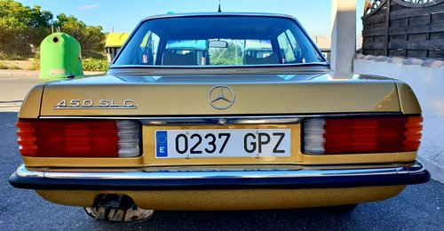 1976 Mercedes R107 450SLC For Sale (picture 2 of 6)