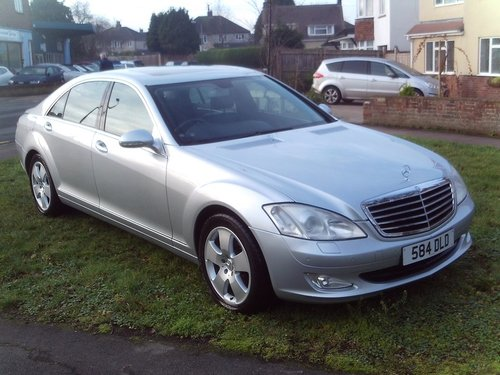 2007 Mercedes Benz S Class long wheel base 320 TD For Sale (picture 1 of 1)