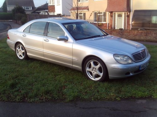 2002 Mercedes Benz S Class 320 Long wheel base For Sale (picture 1 of 1)