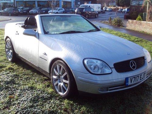 1999 Mercedes Benz SLK 230K For Sale (picture 1 of 1)