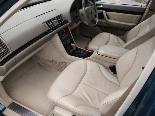 Mercedes S420L LWB Saloon 4.2 Litre 1998S - ONLY 27000 miles For Sale (picture 6 of 6)