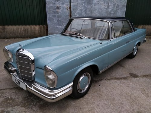 Mercedes 220SEb Coupe 2.2 litre 6 Cyl – 1965C For Sale (picture 1 of 6)