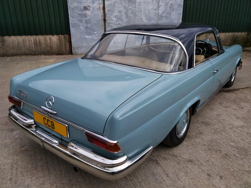 Mercedes 220SEb Coupe 2.2 litre 6 Cyl – 1965C For Sale (picture 2 of 6)