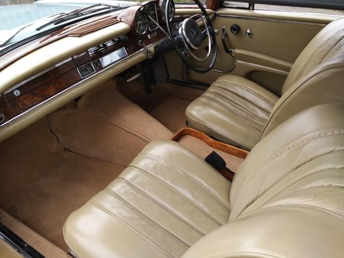 Mercedes 220SEb Coupe 2.2 litre 6 Cyl – 1965C For Sale (picture 6 of 6)
