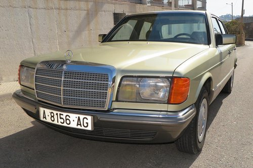 1984 MERCEDES W126 280 SE MANUAL For Sale (picture 1 of 6)