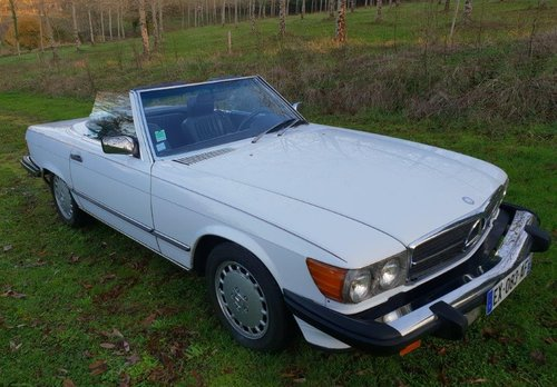 1988 Mercedes 560 SL Roadster (LHD R107) FRANCE For Sale (picture 1 of 6)