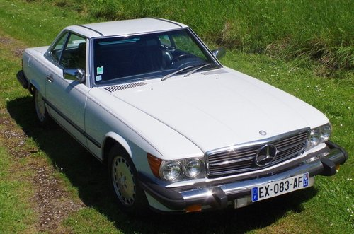 1988 Mercedes 560 SL Roadster (LHD R107) FRANCE For Sale (picture 2 of 6)