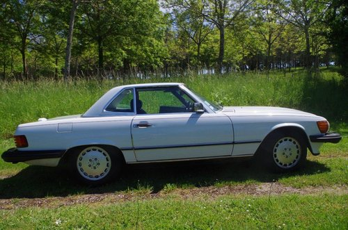 1988 Mercedes 560 SL Roadster (LHD R107) FRANCE For Sale (picture 3 of 6)