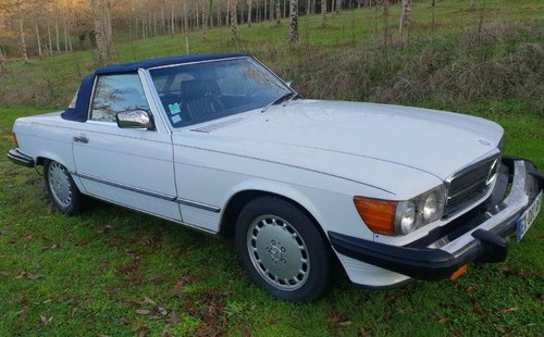1988 Mercedes 560 SL Roadster (LHD R107) FRANCE For Sale (picture 6 of 6)